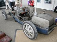 Bugatti Type 35 (left rear corner with no body panels)
