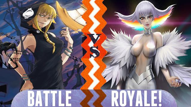 File:Battle Royale Medusa Gorgon vs Ragyo Kiryuin.png