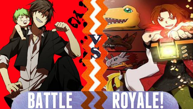 File:Battle Royale Tatsumi Oga and Baby Beel vs Marcus Damon and Agumon.png