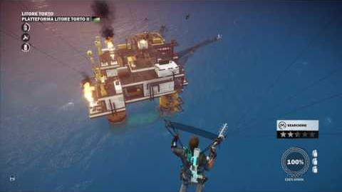 Just Cause 3 liberation of Platteforma Litore Torto for the Wiki
