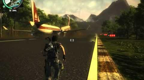 Just Cause 2 Aeroliner 474 fun