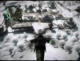 Just Cause 2 - Kem Singa Menerkam - military base 001