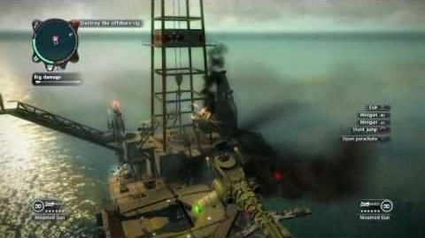 Just Cause 2 -Reaper Mission - Black Gold
