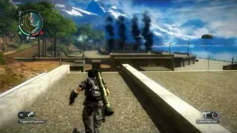 Just Cause 2- settlement completion- Kem Helang Merah
