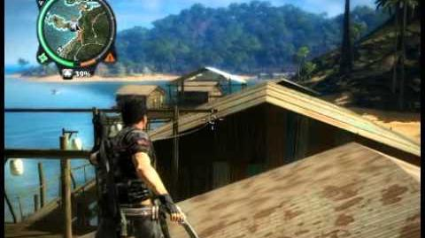 Just Cause 2 - Pekan Sri Vijaya - civilian village