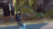 JC3 civilians digging garbage north of the wall