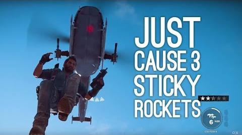 Just Cause 3 Gameplay STICKY ROCKET MINES! (New Gameplay)