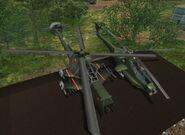 The Guerrilla's versions of -Delta MAH-15 Chimaera- and -Jackson Z-19 Skreemer-