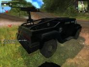 Agency MV (mounted gun close-up)
