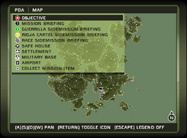 Just Cause (1) map legend