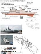 Medici-class multipurpose frigate