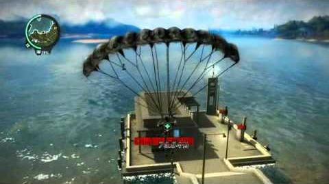 Just Cause 2- settlement completion- Kampung Tanjung Luas