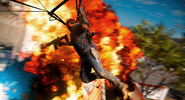 Just Cause 3 shooting from parachute
