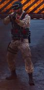 Medici Military shotgun soldier