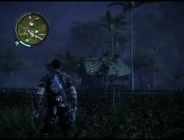 Just Cause 2 - Kampung Kosa Besar - civilian village 01