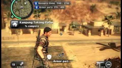Just Cause 2 - Kampung Tokong Purba - civilian village