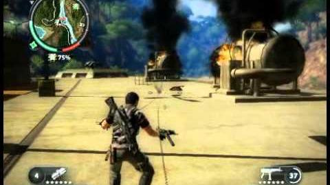 Just Cause 2 - Kem Hang Johan - military base
