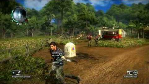 Just Cause 2- settlement completion- Kampung Nipah