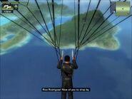 Parachuting to Parovicia Aguilar