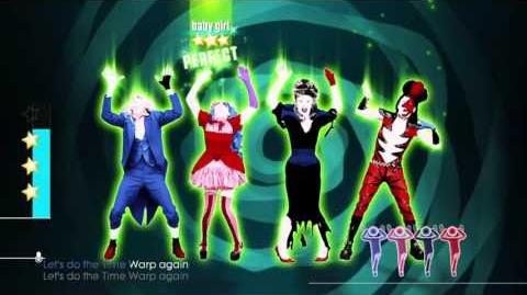 Just Dance® 2016 time warp 5 stars