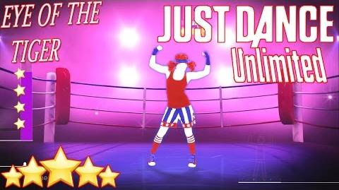 EYE OF THE TIGER 5*Stars - JUST DANCE (UNLIMITED)