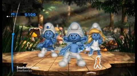 The Smurfs Dance Party Smurfberry-licious