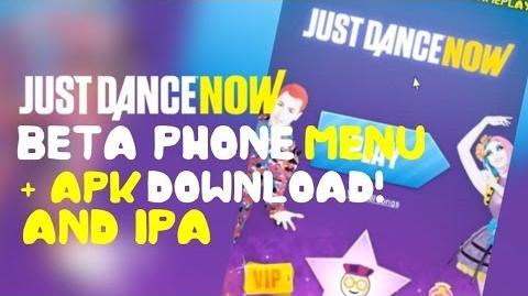 BETA PHONE MENU APK & IPA DOWNLOAD Just Dance Now!