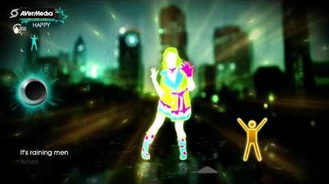 Just Dance Best of It's Raining Men, The Weather Girls (Solo) 5*