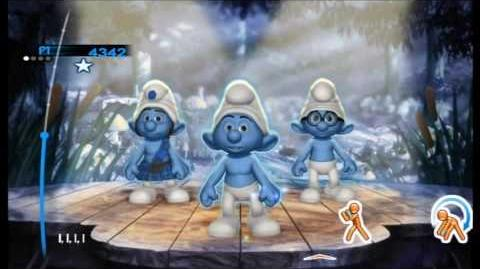 The Smurfs Dance Party Living Color