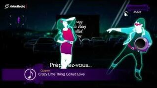 Just Dance 3 Crazy Little Thing Called Love, Queen (Duo) 5*