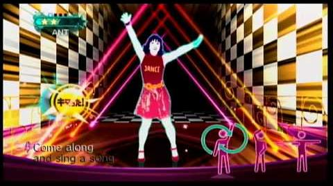 JustJust dance 2 Japan - Mickey Mouse March (Family Flipbook Version)