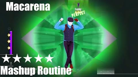 """Macarena"" - Just Dance 2015 - Mashup Routine - 5* Stars"