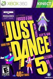 Just dance 5 front cover fan made by xander2386-d5m277o