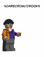 TKOG Movie Comic Scarecrow - Crooks