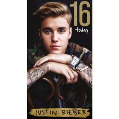 Justin Bieber Age 16 Birthday Card<br /><br />The message on this birthday card says