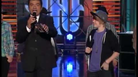 Justin Bieber on Lopez Tonight (2009-12-23)