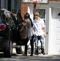 Selena Gomez leaves Justin Bieber's grandparents' house 6