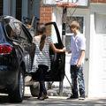 Selena Gomez leaves Justin Bieber's grandparents' house 7