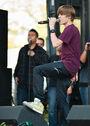 Justin Bieber singing at 2010 Easter Egg Roll