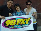 Justin Bieber on 98 PXY 2009