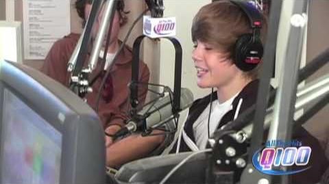Justin Bieber sings The Climb