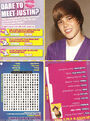 Tiger Beat January February 2010 dare to meet Justin