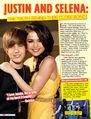 Tiger Beat March 2011 Justin and Selena