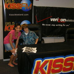 Lucky winners getting to hang with Justin Bieber.