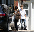 Selena Gomez leaves Justin Bieber's grandparents' house 4