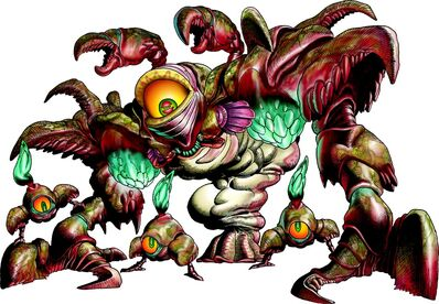 Parasitic Armored Arachnid- Gohma