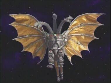 Hyper Mecha-King Ghidorah