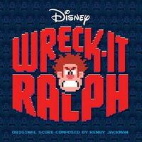 Wreck-It Ralph score CD cover