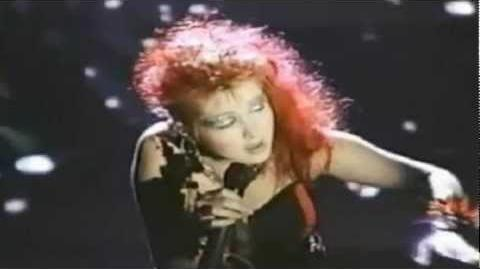 Cyndi Lauper - All Through The Night (Official Music Video)