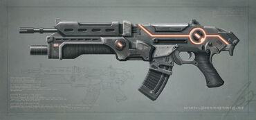 Night-Warrior Assault Rifle